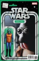 Star Wars #17 - Christopher Action Figure (Walrus Man) Variant Cover